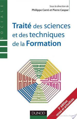Affiche Traité des sciences et des techniques de la formation - 3e édition