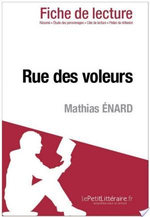 Affiche Rue des voleurs de Mathias Énard (Fiche de lecture)