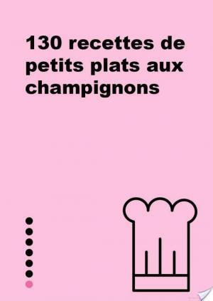 Affiche Petit livre de - Petits plats aux champignons