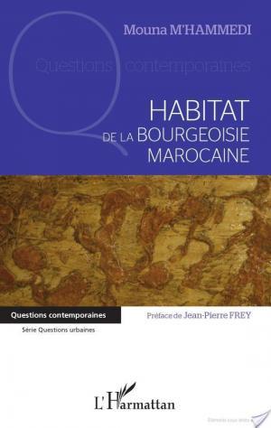 Affiche Habitat de la bourgeoisie marocaine