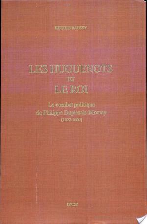 Affiche Les huguenots et le roi