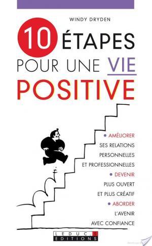 Affiche 10 étapes pour une vie positive