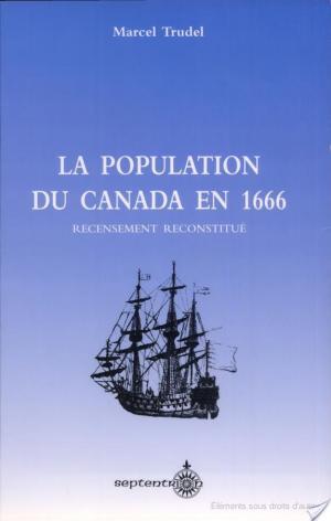 Affiche La population du Canada en 1666