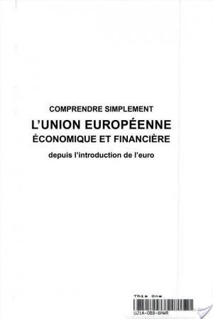 Affiche Comprendre simplement l'Union européenne économique et financière depuis l'introduction de l'euro