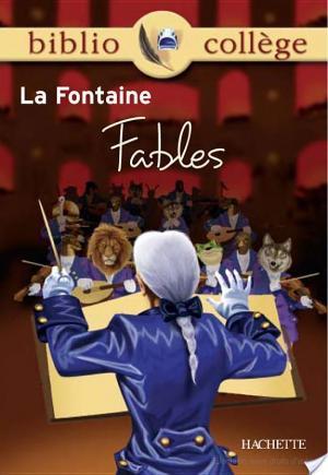 Affiche Bibliocollège - Fables, La Fontaine