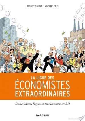 Affiche Ligue des économistes extraordinaires