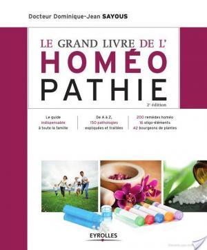 Affiche Le grand livre de l'homéopathie