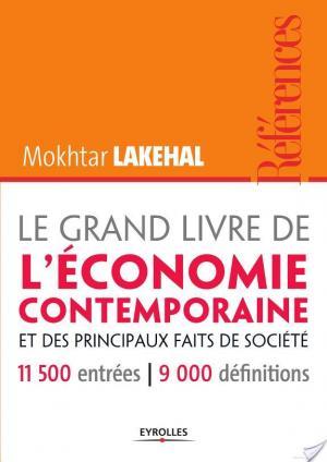 Affiche Le Grand Livre de l'économie contemporaine et des principaux faits de société