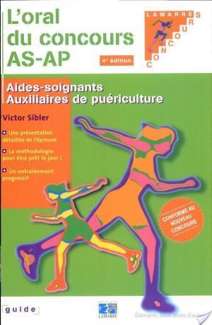 Affiche L'oral du concours AS-AP