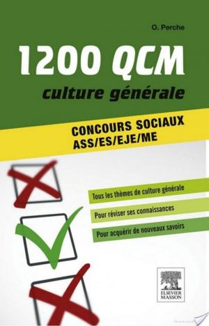 Affiche 1 200 QCM Culture générale Concours sociaux