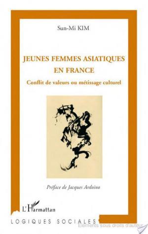 Affiche Jeunes femmes asiatiques en France