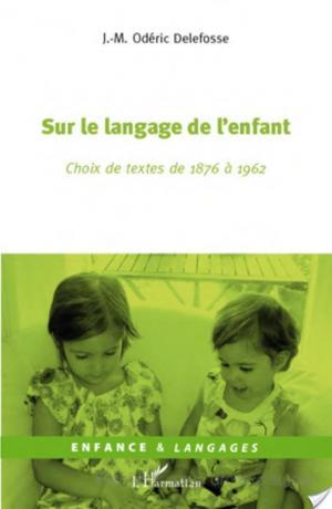 Affiche Sur le langage de l'enfant