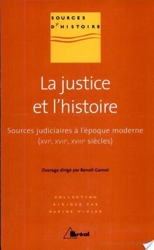 Affiche La justice et l'histoire