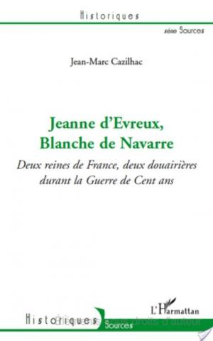 Affiche Jeanne d'Evreux, Blanche de Navarre
