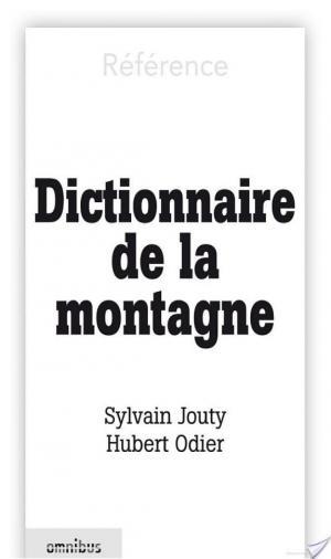 Affiche Dictionnaire de la montagne