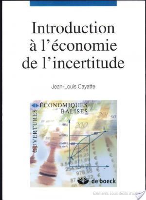 Affiche Introduction à l'économie de l'incertitude