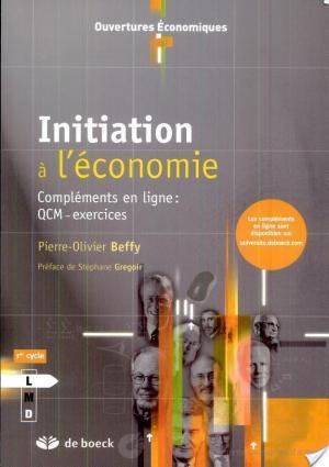 Affiche Initiation à l'économie