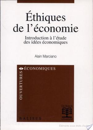 Affiche Ethiques de l'économie