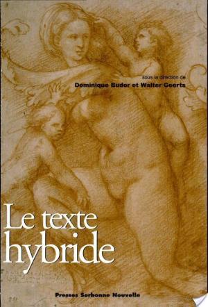 Affiche Le texte hybride