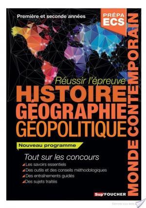 Affiche Réussir l'épreuve Histoire Géographie - Géopolitique du monde contemporain 2e édition