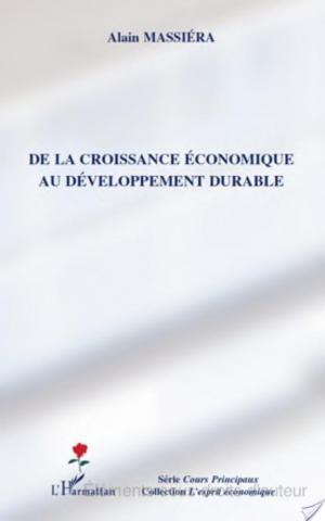 Affiche De la croissance économique au développement durable