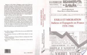 Affiche Exils et migrations