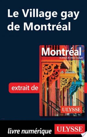 Affiche Le Village gay de Montréal
