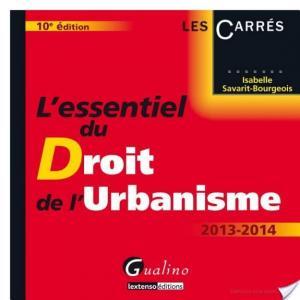 Affiche L'essentiel du droit de l'urbanisme 2013-2014