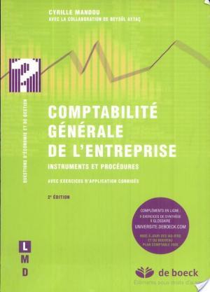 Affiche Comptabilité générale de l'entreprise
