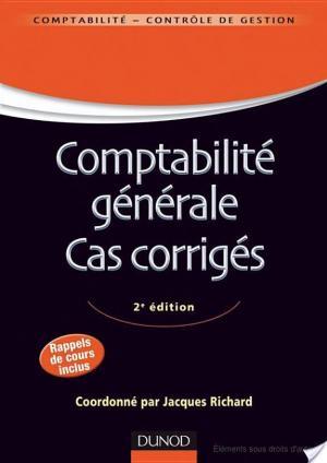 Affiche Comptabilité générale. Cas corrigés - 2e édition