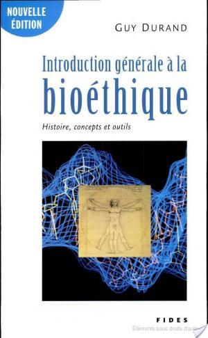 Affiche Introduction générale à la bioéthique