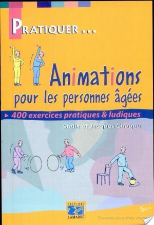 Affiche Animations pour les personnes âgées