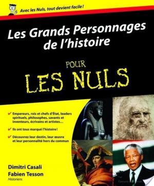 Affiche Les Grands personnages de l'histoire pour les Nuls
