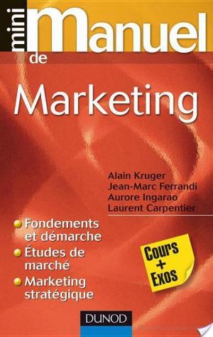 Affiche Mini Manuel de Marketing