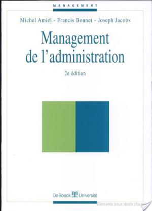 Affiche Management de l'administration