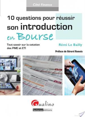 Affiche 10 Questions pour réussir son introduction en Bourse