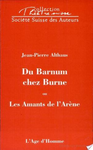 Affiche Du barnum chez Burne, ou, Les amants de l'arène
