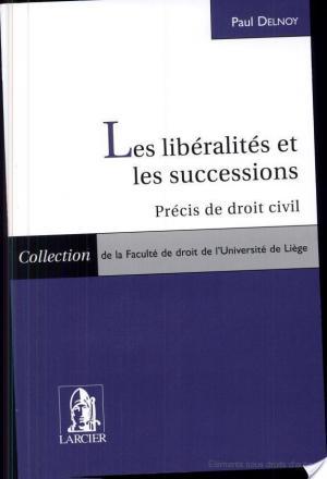 Affiche Les libéralités et les successions