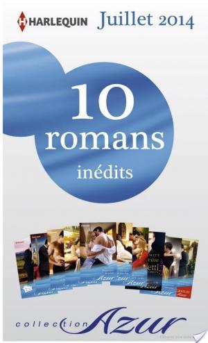 Affiche 10 romans Azur inédits + 1 gratuit (no3485 à 3494 - Juillet 2014)