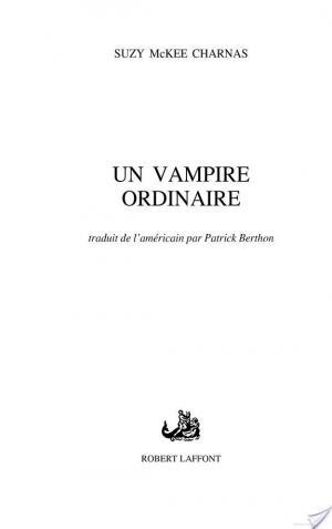 Affiche Un Vampire ordinaire