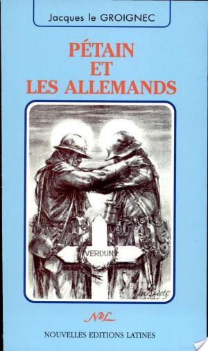 Affiche Pétain et les Allemands