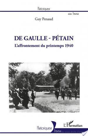 Affiche De Gaulle - Pétain