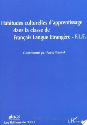 Affiche HABITUDES CULTURELLES D'APPRENTISSAGE