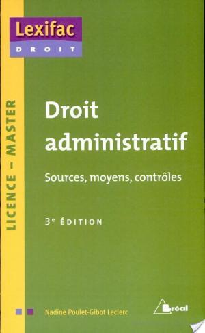 Affiche Droit administratif