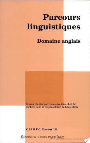 Affiche Parcours linguistiques