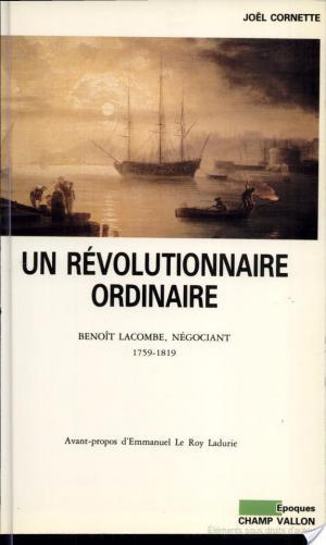 Affiche Un révolutionnaire ordinaire