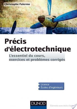 Affiche Précis d'Electrotechnique