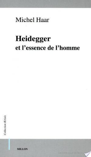 Affiche Heidegger et l'essence de l'homme