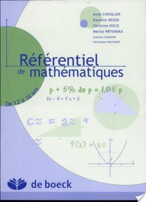Affiche Référentiel de mathématiques