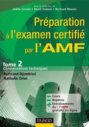 Affiche Préparation à l'examen certifié par l'AMF.